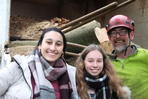 2020 Stuhlprojekt Ausflug Wald