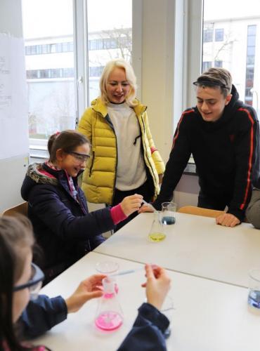 2020 Tdot Leibnizschule Chemie Farbexperimente