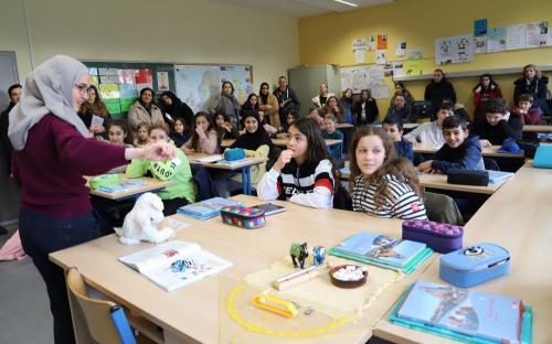 2020 Tdot Leibnizschule Franzoesisch Schauunterricht