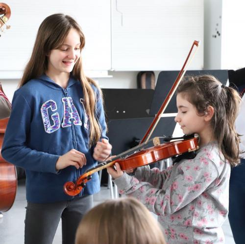 2020 Tdot Leibnizschule Musik Geige Einfuehrung