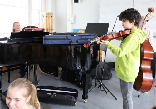 2020 Tdot Leibnizschule Musik Geige Musikstueck