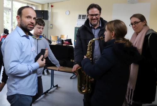 2020 Tdot Leibnizschule Musik Saxophon Einfuehrung