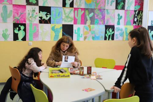2020 Tdot Leibnizschule Wohnzimmer Spieletisch