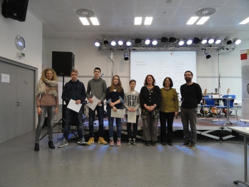 Jugend debattiert 2015 Stadtentscheid